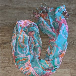Lily Pulitzer Jellies be jammin scarf